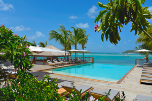 WIMCO Villas, Le Barthelemy Hotel, St. Barts, Villa Pool, Book now with WIMCO Villas