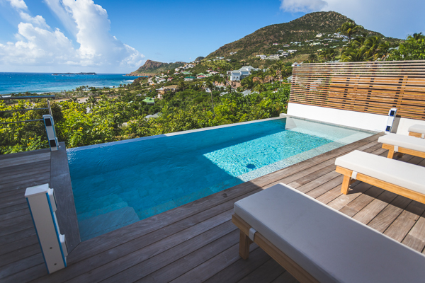 Villa Pool at Villa SBH 2BST (Le Toiny 2 BR) at Toiny, St. Barthelemy, Family-Friendly, Pool, 2 Bedroom, 2 Bathroom, WiFi, WIMCO Villas
