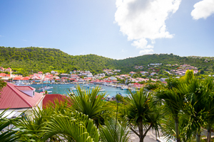 The view from Villa WV GTL (Apartment Gustavia Loft) at Gustavia, St. Barthelemy, Family-Friendly, No Pool, 1 Bedroom, 1 Bathroom, WiFi, WIMCO Villas, Available for the Holidays