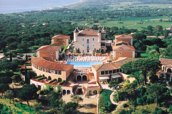 WIMCO Villas, St. Tropez Luxury Hotel, Chateau de la Messardiere, Book a Hotel room now with WIMCO Villas.