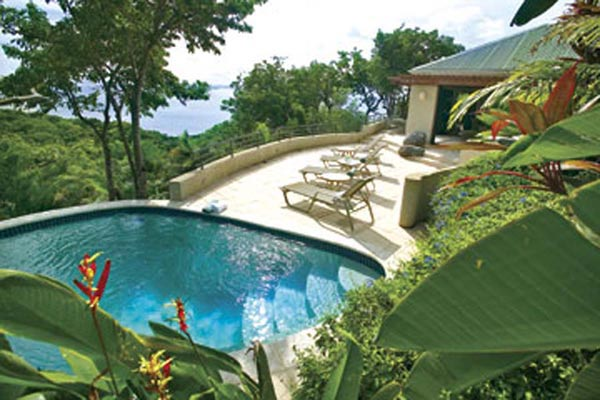 Virgin Gorda Beachfront Villa Boulder Crest